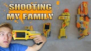 SHOOTING MY FAMILY!!!