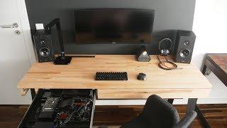 Moje stanowisko komputerowe 2.0 - biurko z komputerem w szufladzie!