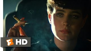 Blade Runner (1/10) Movie CLIP - She's a Replicant (1982) HD