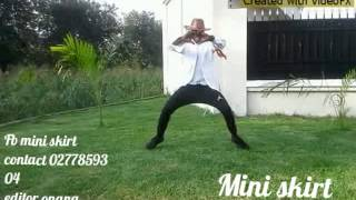 Go Hard Mini skirt dance by Tekno Duro