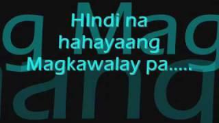 Pagkat mahal Kita lyrics