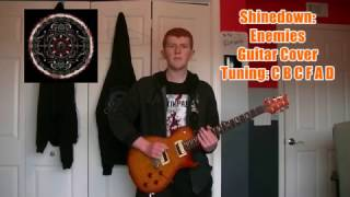 Shinedown - Enemies (WWE Raw Theme Song) - Guitar Cover