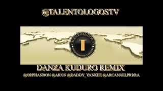 Don Omar Feat. Akon & Daddy Yankee & Arcangel - Danza Kuduro Remix @TalentologosTV
