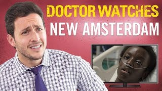 Real Doctor Reacts to NEW AMSTERDAM | Medical Drama Review | Doctor Mike width=