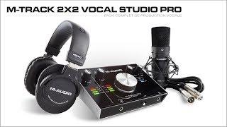 M-AUDIO M-TRACK pack Vocal Studio Pro (vidéo de La Boite Noire)