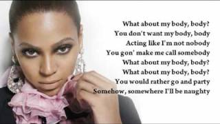 Beyoncé - Kitty Kat (instrumental/with lyrics)