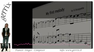 My first melody