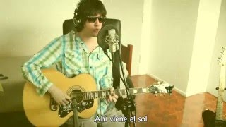 The Beatles - Here Comes The Sun (Acoustic Cover) by ANDY | Subtitulado en español