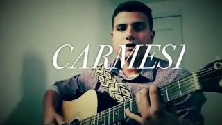Carmesí Cover! By Juanda Ramirez