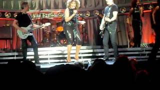 Tina Turner - Better Be Good To Me 12/4/08 Part 1 of 2