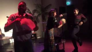"""Enza Pagliara and Dario Muci performing """"pizzica"""" feat. Aymeric Aude"""