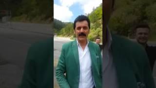 ramazan çelik yolda aracını durdurarak oynadı 2017 mayıs