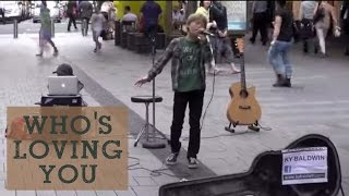 Who's Loving You - Jackson 5 live cover by Ky Baldwin