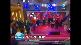 Los Cartageneros Enganchados - Qué Mañana! Canal 9 (Oficial 2014)