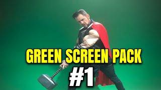 BAGI-BAGI VIDEO GREEN SCREEN PACK TERBARU DAN TERLENGKAP UNTUK VIDEO EDITING