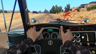 ATS - Natasha's Adventures - Amusing Hands - American Truck Simulator Online - 1rst Person Mod