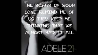 Rolling In The Deep~Adele LYRICS
