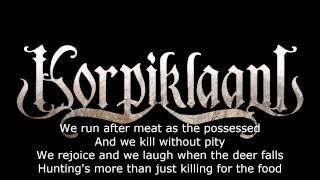 Korpiklaani - Hunting song (Lyrics)