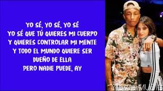 Pharrell Williams ft. Camila Cabello - Sangria Wine (Lyrics)
