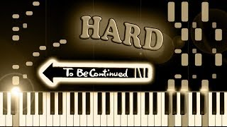 TO BE CONTINUED - Piano Tutorial
