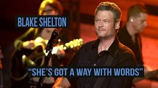 Blake Shelton Lashes Out In 'She's Got a Way With Words'