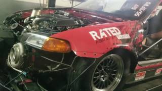Turbo nitros sfwd civic La fluffy import DPS MR live RATED R TUNING