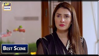 Koi chand Rakh Episode 23 |- #AyezaKhan  | BEST SCENE |