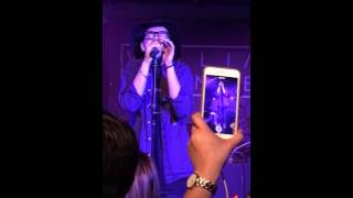 William Singe - Don't/Swimming Pools Mashup (live)