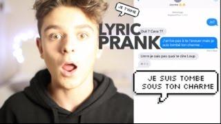 LYRIC PRANK - JE PIEGE DES YOUTUBEUSES SUR DU COLONEL REYEL