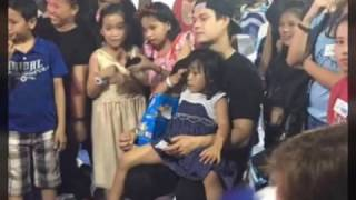 Enrique Gil at his early 25th birthday celebration for his Charity