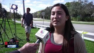 Jesús González fue hasta Parkland, donde ocurrió el tiroteo en una escuela secundaria