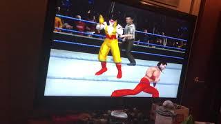 WWE SVR 2010 - Shinsuke Nakamura vs Ronald McDonald