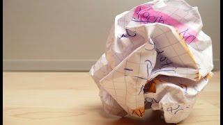 Crushing Paper Sound