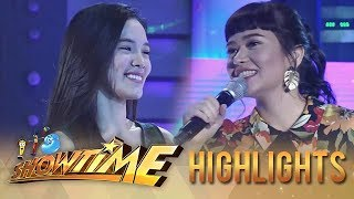 """It's Showtime Miss Q & A: """"Ate Girl"""" and Bela exchange pleasantries"""
