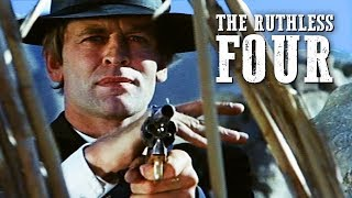 The Ruthless Four | WESTERN | HD | Full Length | Klaus Kinski | Spaghetti Western | Full Movie
