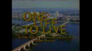 One Life To Live 1986 Closing Credits