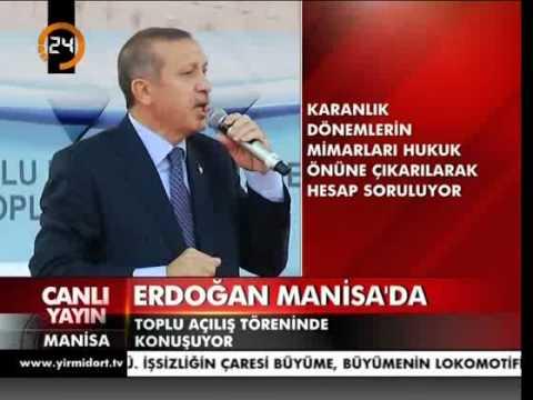 Başbakan Erdoğan. Birileri laf üretir,biz ise iş üretiriz.