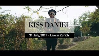 Kiss Daniel Live at the Babette Club Zurich on 31 July, 2017