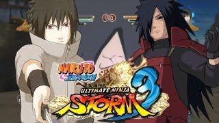 Naruto Shippuden Ultimate Ninja Storm 3 - EMS Sasuke vs Madara