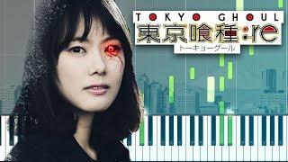 Tokyo Ghoul:re OP - asphyxia Piano Tutorial