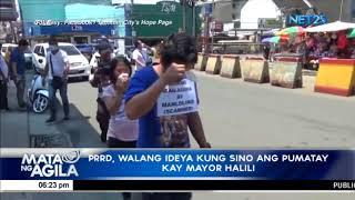 PRRD: Tanauan City Mayor Halili, may koneksyon sa iligal na droga; shame campaign, front lamang