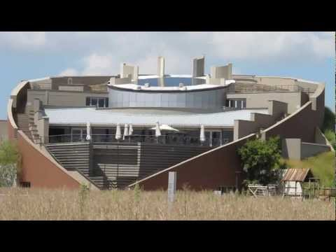 Outside The Maropeng Visitor Centre – Johannesburg