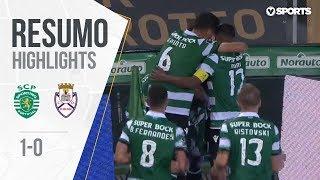 Highlights | Resumo: Sporting 1-0 Feirense (Liga 18/19 #4)