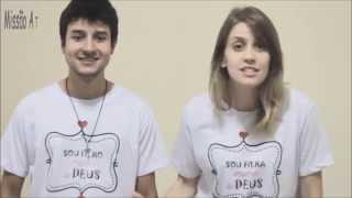 """Camisetas """"Sou filho(a) Amado(a) de Deus"""""""