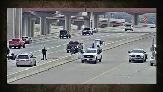 Two Motorcycle COPS Collide Trying to Pull Over Car
