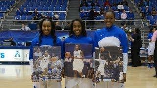 Memphis Women's Basketball: Senior Night 2014