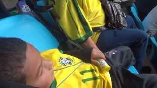 Lucas bebê 2009 na Arena do Grêmio