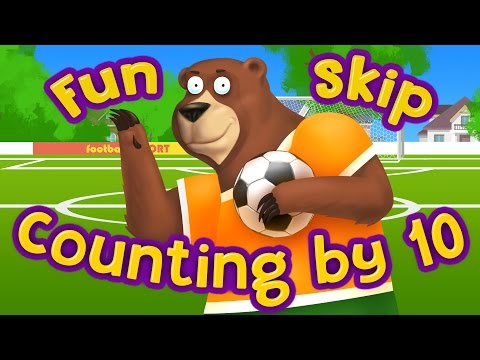 Funny Math for kids | Fun Skip Counting by 10