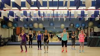 """Dance Fitness w/ Diny - """"El Perdedor"""" (Enrique Iglesias feat. Marco Antonio Solis) - Bachata"""