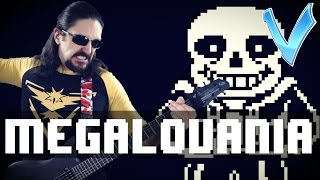 "Undertale - Megalovania ""Epic Metal"" Cover (Little V)"